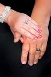 婚姻的诺言 库存图片