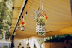 婚姻的宴会餐馆 库存图片