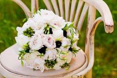 婚姻美丽的花 免版税库存照片