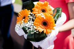 婚姻美丽的花 图库摄影