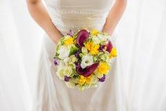 婚姻花的新娘 免版税图库摄影