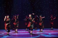 婚姻风俗中国民间舞的Minnan 库存图片