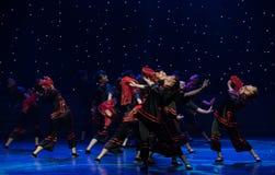婚姻风俗中国民间舞的Minnan 免版税库存图片