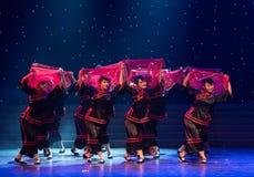 婚姻风俗中国民间舞的Minnan 免版税图库摄影