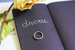 离婚 免版税库存照片