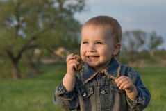 婴儿喜悦 库存照片