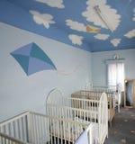 婴儿床 图库摄影
