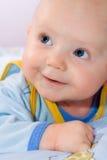 婴儿微笑 库存图片