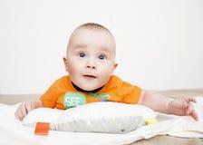 婴儿的肚子时期 库存照片