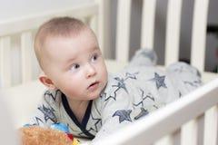 婴儿的肚子时期 免版税库存图片