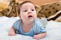 婴儿纵向年轻人 图库摄影