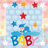 婴儿送礼会 免版税图库摄影