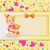 婴儿送礼会 免版税库存照片