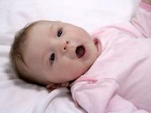 婴孩一点 免版税库存照片