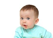 婴孩乐趣女孩纵向 免版税库存照片