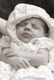 婴孩休眠的一点 图库摄影