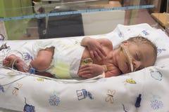 婴孩休眠 免版税图库摄影