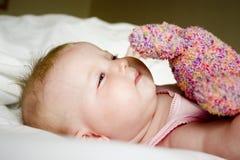 婴孩使用 图库摄影