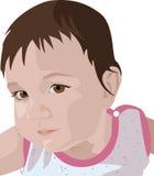 婴孩例证 库存图片