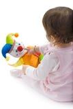 婴孩保险开关使用 库存图片