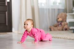 婴孩八个月 免版税图库摄影