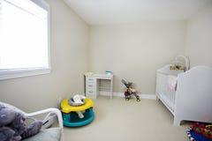 婴孩卧室 免版税库存照片