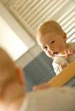 婴孩卫生学 库存图片