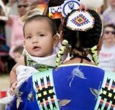 婴孩印第安当地人 库存照片