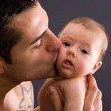 婴孩发楞 库存照片