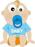 婴孩向量 库存图片
