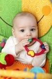 婴孩吵闹声环形 库存图片