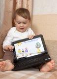 婴孩图画 免版税图库摄影