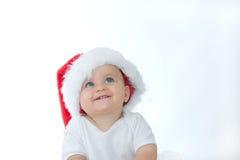 婴孩圣诞节 图库摄影