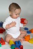 婴孩块 免版税图库摄影