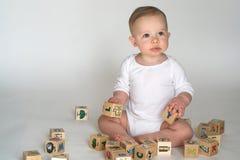 婴孩块 库存照片