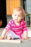 婴孩大厦 免版税库存照片