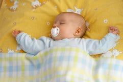 婴孩小儿床 库存图片