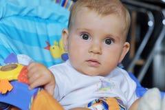 婴孩少许纵向 免版税图库摄影