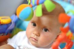 婴孩少许纵向 免版税库存图片