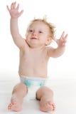 婴孩尿布 图库摄影