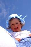 婴孩屏幕 免版税库存照片