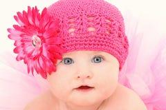 婴孩帽子芭蕾舞短裙 免版税图库摄影