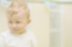 婴孩幼儿围栏 图库摄影