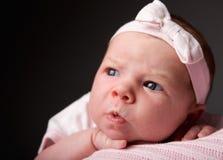 婴孩情感 库存图片