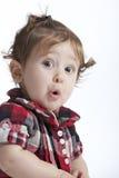 婴孩惊奇 免版税库存图片