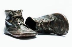 婴孩我的鞋子 免版税库存照片