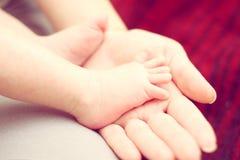 婴孩手指 免版税图库摄影