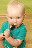 婴孩插件 免版税库存图片