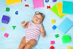 婴孩新出生的一点 免版税库存图片
