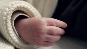 婴孩新出生的现有量 影视素材